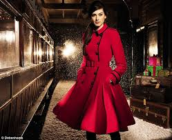 winter winner the jonathan saunders edition red coat was their fastest elling coat ever