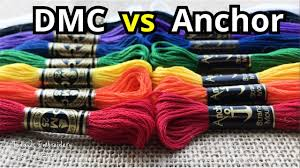 Conversion Chart Anchor To Dmc Dmc Vs Anchor Floss Embroidery Thread Color Conversion Chart What Should You Buy