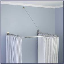 l shaped shower curtain rod ikea curtain home decorating ideas curtain