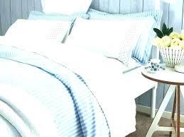 beautiful blue stripe duvet cover vintage ticking sham ti
