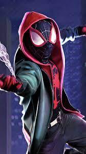 Spider-Verse Miles Morales 4K Wallpaper ...