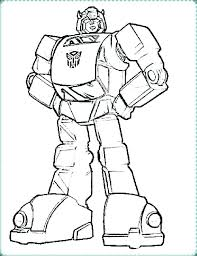Transformers Coloring Pages Bumblebee Transformers Coloring Pages