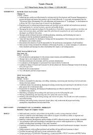 Test Manager Resume Test Manager Resume Samples Velvet Jobs 1