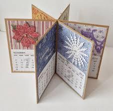 3d Paper Flower Calendar Handmade Calendar Card Tutorials Artist Trading Cards
