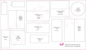Wedding Invite Size Awesome Standard Wedding Invitation Card Sizes