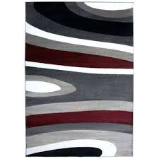 abstract contemporary modern gray indoor area rug dalyn n