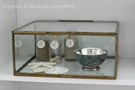 Decorative Display Boxes Brass Beveled Glass Boxes At Createologie Organize And 6