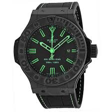 hublot big bang all black green men s watch 322 ci 1190 gr abg11 hublot big bang all black green men s watch 322 ci 1190 gr