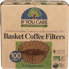 Can coffee filters be composted? If You Care Unbleached Coffee Filters Basket 8 Inch 100 Ct Amazon Com Grocery Gourmet Food