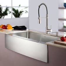 Kitchen Main Kitchen Sink Faucets Stainless Steel bination