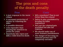 ideas collection death penalty pros and cons essays   best ideas of death penalty pros and cons essays for your format