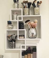 clear acrylic makeup organizer arranges makeup brushes and cosmetics 2 piece storage display holder by acrylicase