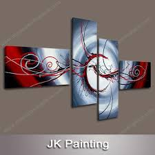 modern custom canvas wall art abstract animal painting from handmade oil painting painting whole