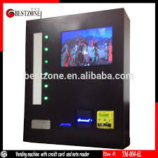 Vending Machine Credit Card Reader Enchanting Wall Mounted Cigarettes Vending Machines For MallBar Buy Wall