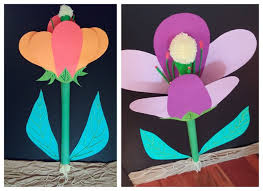 Small Picture Model Of Flower Parts Science Anatomy 3d Project School Lesson Xga