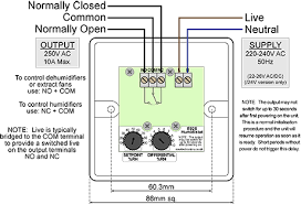 e925 24v standard humidistat ms electronics installation