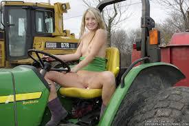 Nude girls on john deere tractors