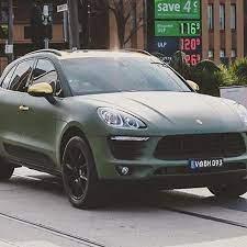 Image Result For Matte Army Green Porsche Porsche Macan S Matte Cars European Cars