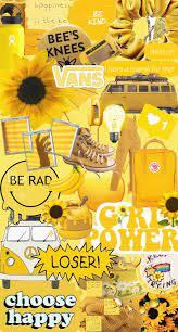 Desktop Aesthetic Design Yellow Vsco ...