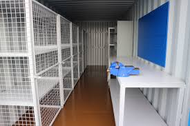 A repeat shipping container conversion, the client was expanding and needed  another workshop / storage unit and came back to us because of the service  we ...