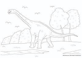 Dinosaurus Kleurplaten Dinosaurusnl