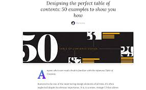 Table Of Contents Design Pinterest Designing The Perfect Table Of Contents Canva Doctoolhub