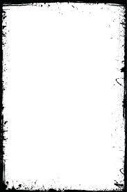 black and white frame black grunge frame isolated on the white background stock vector black white black and white frame