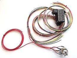 street rod zeppy io street rod race universal 14 fuse 12 circuit harness prewired to ignition switch