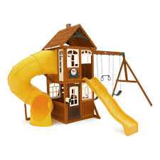 lewiston retreat wooden play set