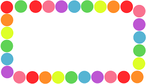 Colorful Page Borders Natashamillerweb