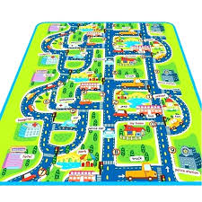 ikea car rug play rugs cool mat city road carpets for children carpet baby