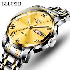 BELUSHI <b>Fashion Men's</b> Quartz Watch Chronograph <b>Sport Men</b> ...