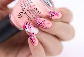 Cherry Blossom Nail Art - The Beauty of Nail Polish