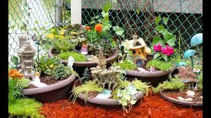 Cool magical best diy fairy garden ideas Houses How To Make Diy Fairy Garden Youtube How To Make Diy Fairy Garden Youtube