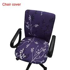 office armchair covers. Office Computer Chair Covers Printed Stretch Task Cover Slipcover For  Rotating Armchair Office Armchair Covers -