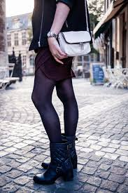 Biker Jacket, Wrap Dress, Biker Boots - THE STYLING DUTCHMAN. & lobogato hexagon necklace quilted biker boots clarks shoes Adamdwight.com