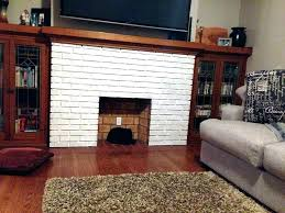 Whitewashing Brick Fireplace Surround Fireplace Home Design Apps For ...