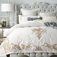 bedding sets luxury bedspreads white