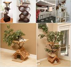 cool cat tree furniture designs your cat will love10