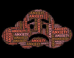 Get Free Stock Photos Of Anxiety Word Shows Tenseness Text And Words