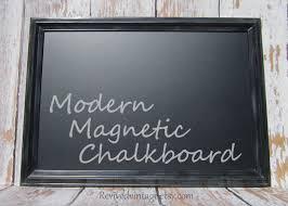 modern framed chalkboard framed x modern
