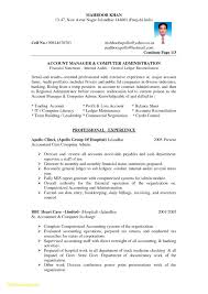 Resume Format For Government Job Inspirational Government Resume