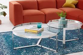 mesa de centro nido aula cromo y