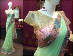 Designer Wall Sarees Gorgeous Saree With Beautiful Design And Embroidery From The
