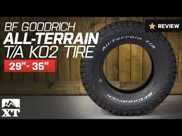 Bf Goodrich All Terrain T A Ko2 Tire Available In Multiple Sizes