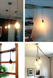 hanging lamp with plug hanging light with plug in cord pendant light any color pendant lamp