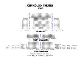 John Golden Theatre Seating Chart Nyc John Golden Theatre Playbill
