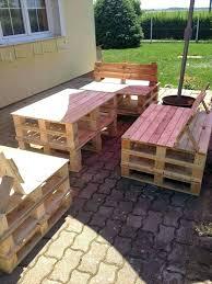 wooden pallet garden furniture. How To Build Garden Furniture From Wooden Pallets Pallet