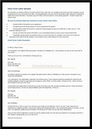Email Cover Letters Image Collections Cover Letter Ideas
