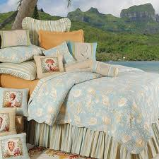 Tropical Bedding, 20% Off Quilts, Bedspreads & Comforter Sets & C & F Natural Shells Tropical Bedding Adamdwight.com
